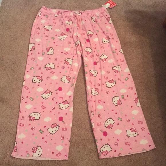 8b61ecce7 Hello Kitty Intimates & Sleepwear | Nwt Sanrio Pj Bottoms | Poshmark